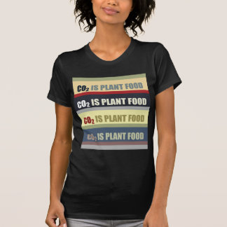 Carbon Dioxide Is Plant Food Tee Shirts