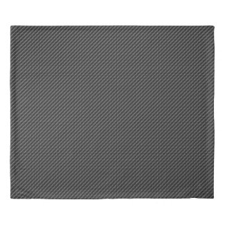 Carbon Fiber 1-2 Image Options Duvet Cover