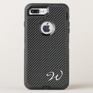 Carbon Fiber 1-2 Image Options OtterBox Defender iPhone 8 Plus/7 Plus Case
