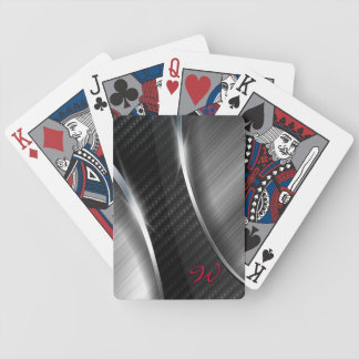 Carbon Fiber 3A Playing Cards. Bicycle Playing Cards