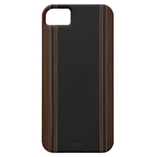 Carbon Fiber & Dark Wood iPhone 5 Case