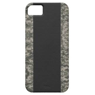 Carbon Fiber & Digital Camouflage iPhone 5 Case