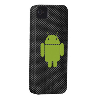 Carbon Fiber iPhone 4/4S Case (Android on iPhone)