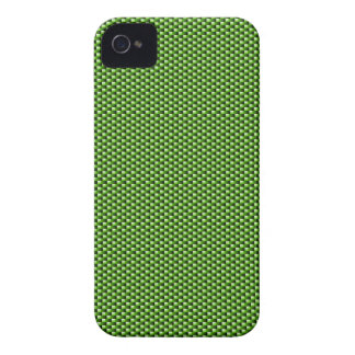 Carbon Fiber iPhone 4/4S Case (Green)