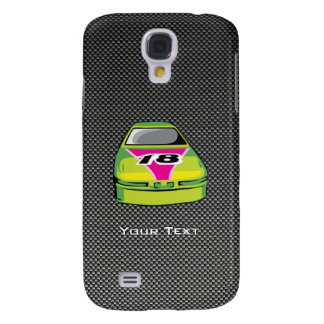 Carbon fiber look Nascar HTC Vivid Cases