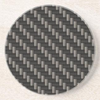 Carbon Fiber Material Coaster