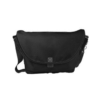 Carbon fiber messenger bags