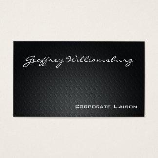 Carbon Fiber Professional Car Business Cards