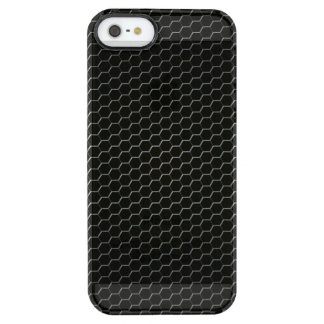 Carbon-fiber-reinforced polymer clear iPhone SE/5/5s case