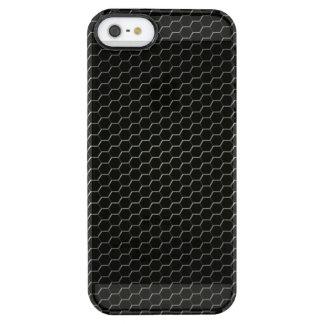 Carbon-fiber-reinforced polymer clear iPhone SE/5/5s case