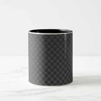 Carbon-fiber-reinforced polymer Two-Tone coffee mug