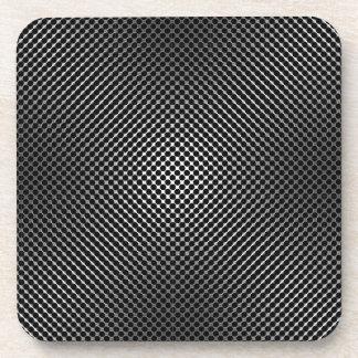 carbon fiber skin vo.1 drink coaster