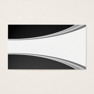 Carbon Fiber White card