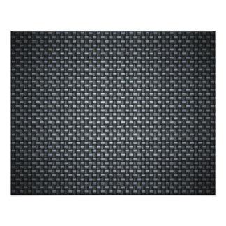 Carbon Fibre Look Art Photo