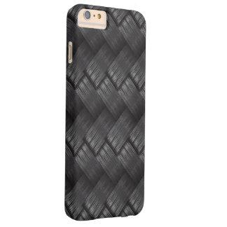 Carbon Fibre Weave Texture Barely There iPhone 6 Plus Case
