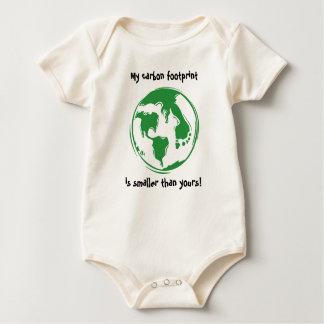 Carbon Footprint Baby Bodysuit