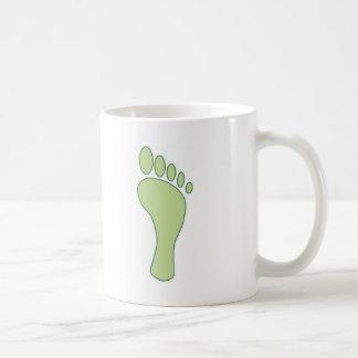 Carbon FootPrint Green Coffee Mug