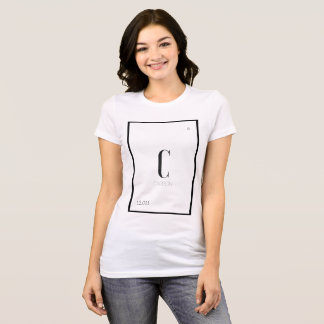 Carbon is a girl's best friend T-Shirt