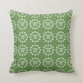 Carbon Zero Hero Christmas Pillow