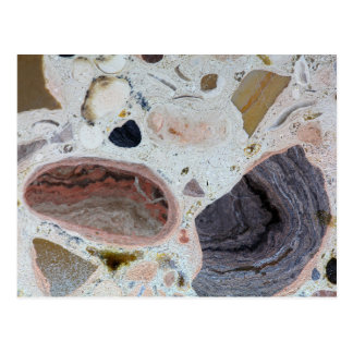 Carbonate rock postcard