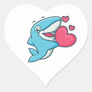 CarbonFin Love Sticker