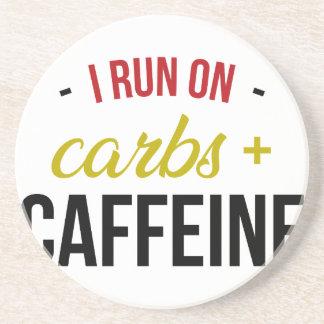 Carbs & Caffeine Coaster