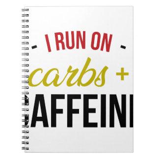Carbs & Caffeine Notebook
