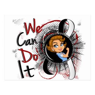 Carcinoid Cancer Rosie Cartoon WCDI Postcard