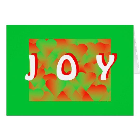 CARD.2131.JOY.RED.GREEN CARD