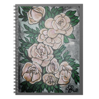 Card#5 Roses Notebooks