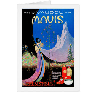 Card: - Art Deco Ad by Fred Parker Card