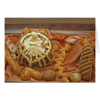 "Card, ""Beautiful Breads"" Card"