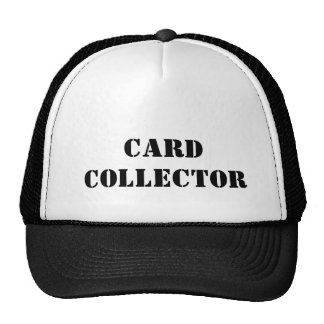 Card collector mesh hats