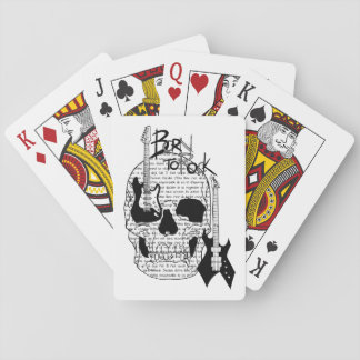 "Card deck ""Born to Rock """