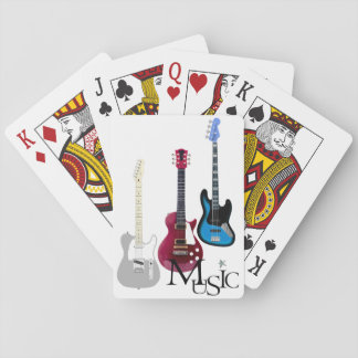 "Card deck ""Guitars and Music """