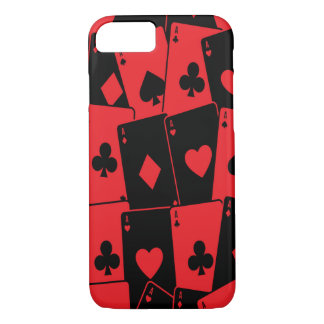 Card Deck Russian Roulette/Poker iPhone 8/7 Case
