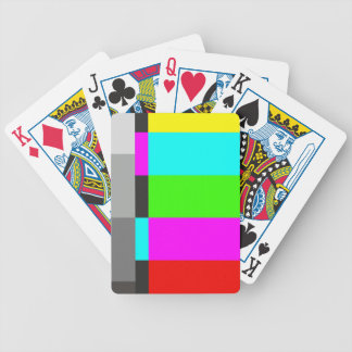 Card deck the test card Click for Graph