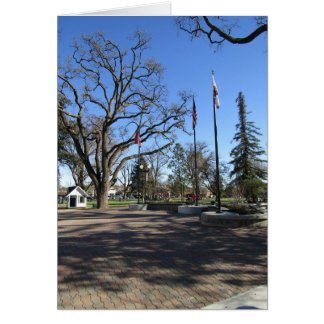 Card:  Entrance to Paso Robles Downtown City Park Card