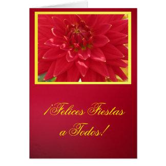 Card - ¡Felices Fiestas a Todos! - La Dalia Roja