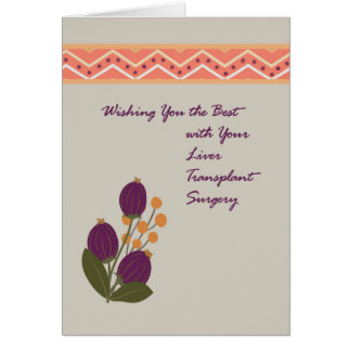 Card for Liver Transplant Surgery
