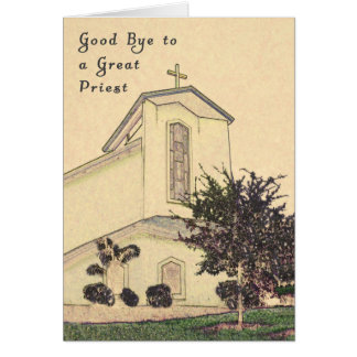 Card for Saying Good Bye to Your Parish Priest