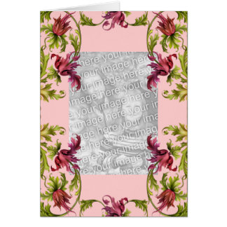 Card Frames to Create Your Card Vintage Pink