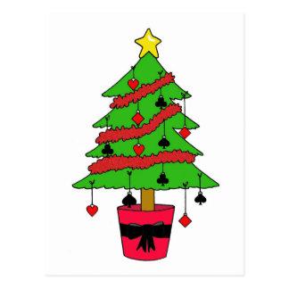 Card Game Christmas Tree