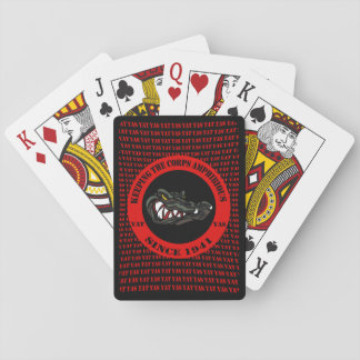 Card Gators blk/red Yat Yas Black Cut Edge