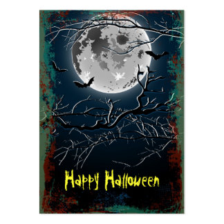 Card Happy Halloween Large Business Card