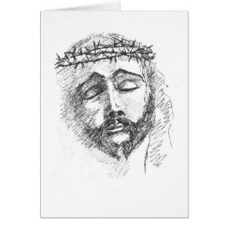 Card - Head of Christ