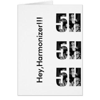 Card, Hey Harmonizer! Card