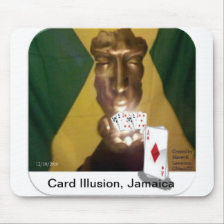 Card Illusion Mouse Pad