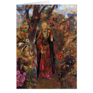 Card/Invitation: Buddha by Odilon Redon Card