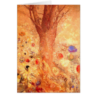 Card/Invitation: Buddha in His Youth by Redon Card